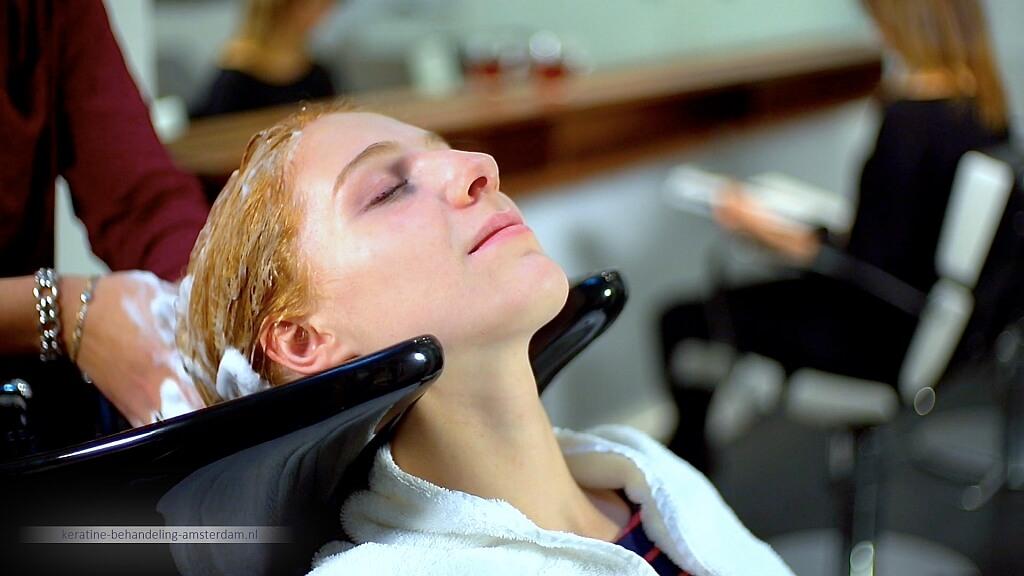 keratine behandeling stap voor stap uitgelegd - alles over de behandeling in de salon LysandroCicilia hairstyles goede kapper
