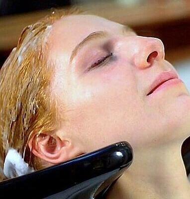 keratine haren wassen