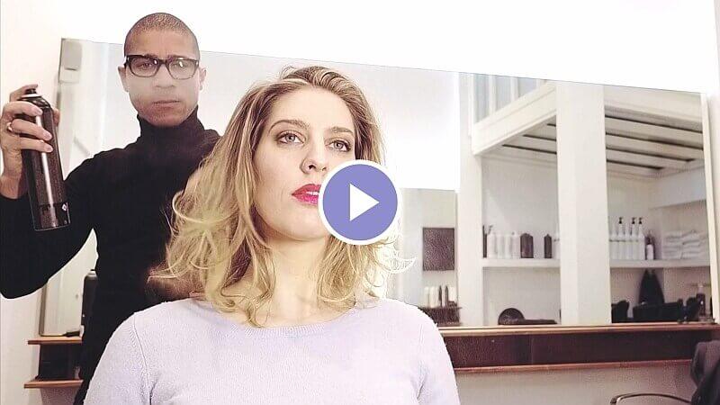 Kapper Amsterdam LysandroCicilia hairstyles Volume hair Video 2018