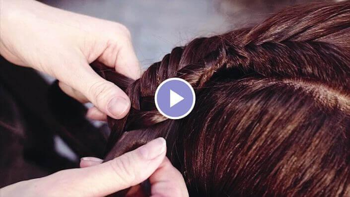 Kapper Amsterdam LysandroCicilia hairstyles braided bun Video 2018