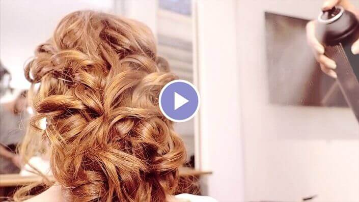 Kapper Amsterdam LysandroCicilia hairstyles romantic fairytale Video 2018